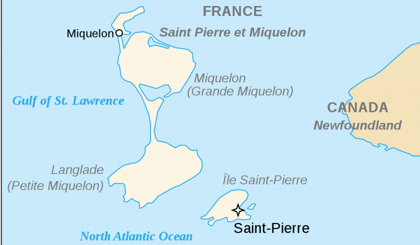 Interesting facts about St Pierre and Miquelon