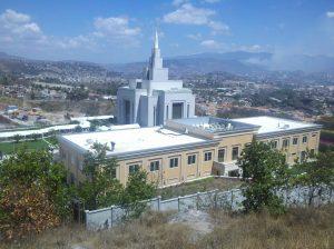 Mormon temple in Tegucigalpa