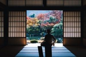 Tenryu-ji Temple, Kyōto-shi, Japan