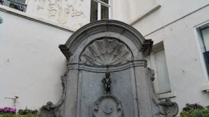 The Manneken Pis, Brussels