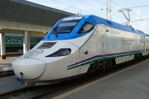 The Uzbekistan Railway