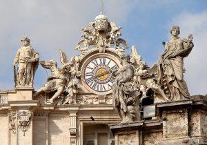 Vatican State Clock Tower