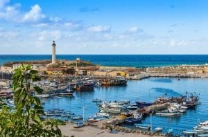 Cherchell Port, Algeria