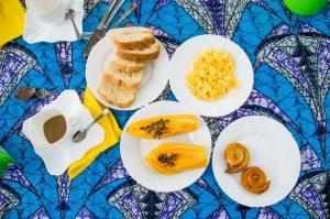 Breakfast in Sao Tome and Principe