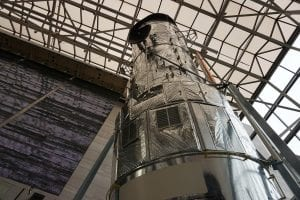 NASA's Hubble Telescope, before being launched.