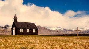 A little chapel In Iceland