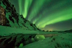 Northern Lights, Thórsmörk, Iceland
