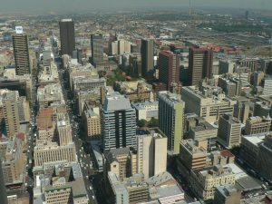 Panorama of Johannesburg