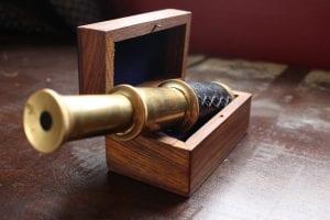 A Pirate's Spyglass Telescope