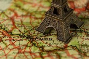 Model of Eiffel Tower