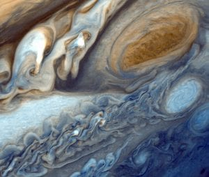 An Image of the Surface of Jupiter