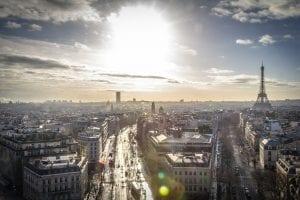 view across Paris