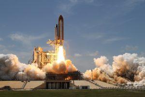 NASA Space Shuttle Takeoff