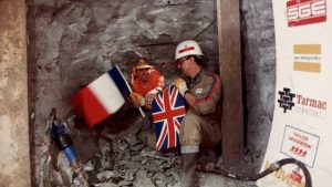 The Channel Tunnel joining up