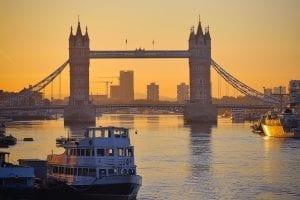 Tower Bridge, on The River Thames, London