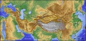 facts about the silk road