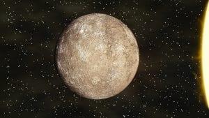 Satellite image of Mercury