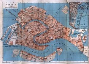 Map of Venice