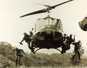 Bell UH 1 Helicopter in Vietnam