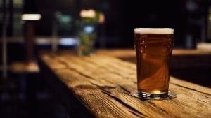 A pint of IPA beer