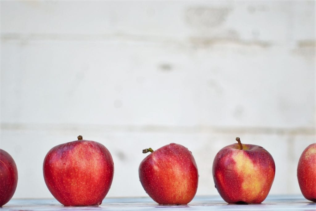 nutrition apple facts