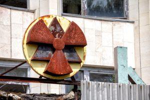 Chernobyl ruins