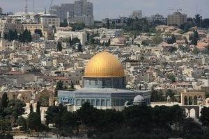 Modern day Jerusalem