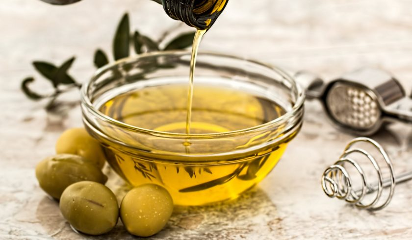 nutrition facts on olive oil