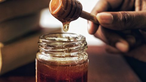 nutrition facts for honey