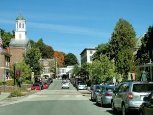 A New Hampshire town's Main Street
