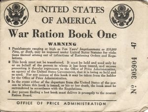 facts on rationing