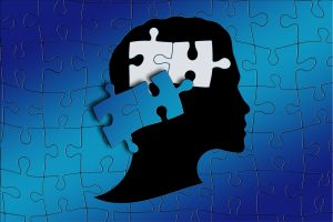 a puzzle of the human mind