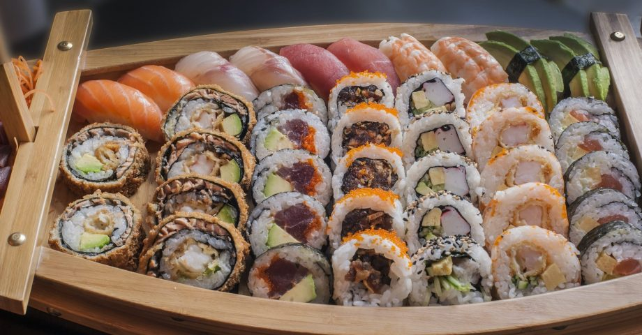 nutritional facts about sushi