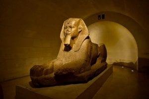 Great Sphinx of Tanis, Louvre Museum, Paris, France