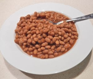 baked beans farting
