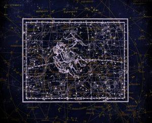 Gemini Star Sign Constellation