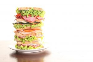 The world's biggest sandwich?  Maybe not...