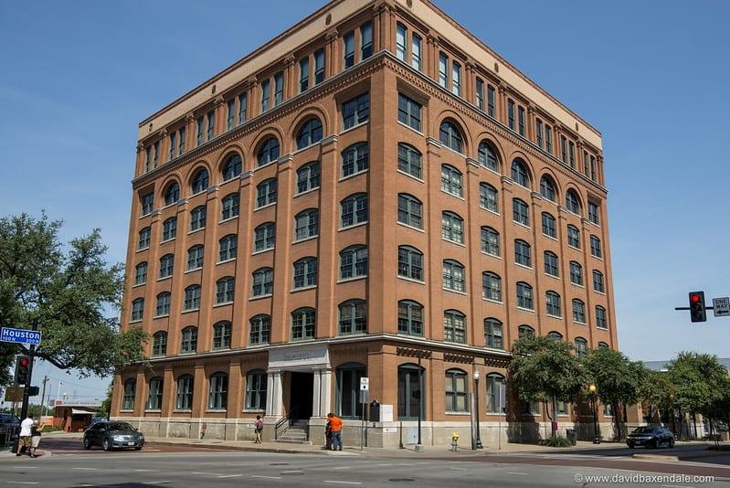 the Depository Building, Dallas, Texas