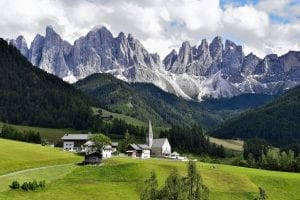 Facts about The Dolomites