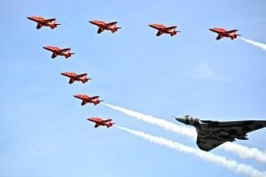 Facts about the Red Arrows