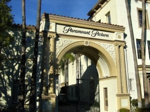 Paramount Pictures Movie Studios, in Hollywood
