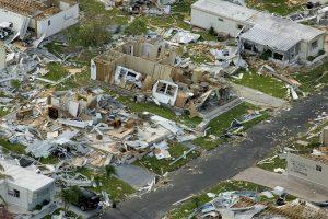 The aftermath: Hurricane damage