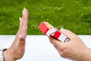 say no to smoking