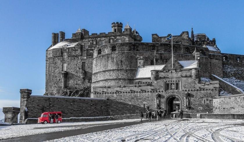 interesting Edinburgh Castle Facts
