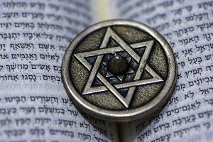 Star of David on the torah