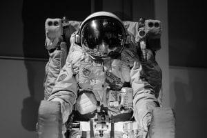 A 1960s astronaut