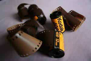 negative film roll