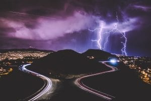 fun facts about lightning