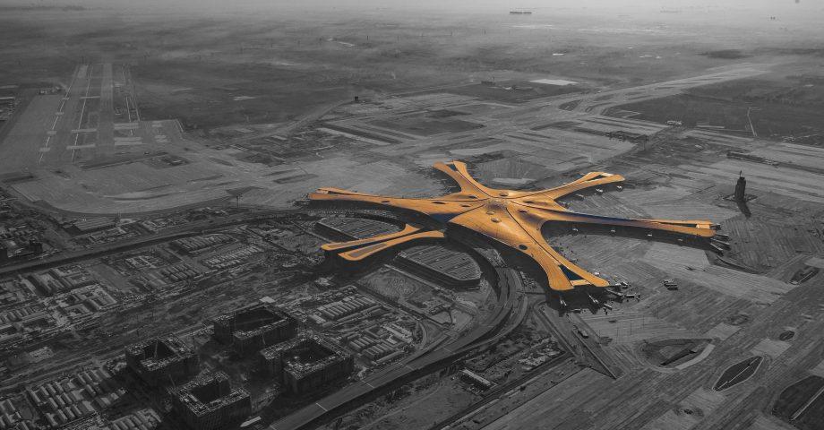 Zaha Hadid Airport, Beijing