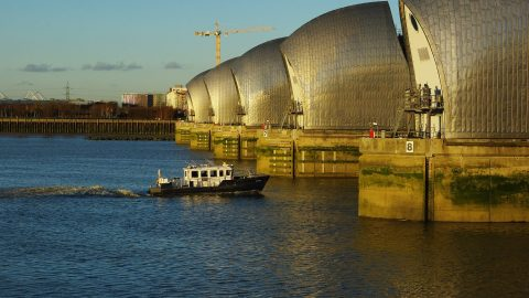 Facts about the Thames Barrier